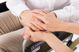 看護におけるタッチング。効果的な方法は?