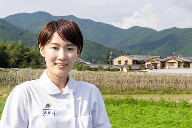 京都大原記念病院・病院看護師古田芽育子さん