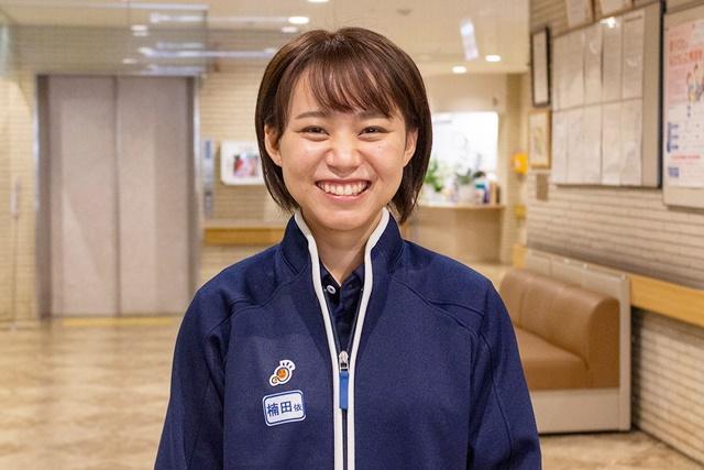 京都大原記念病院・介護職楠田依未さん